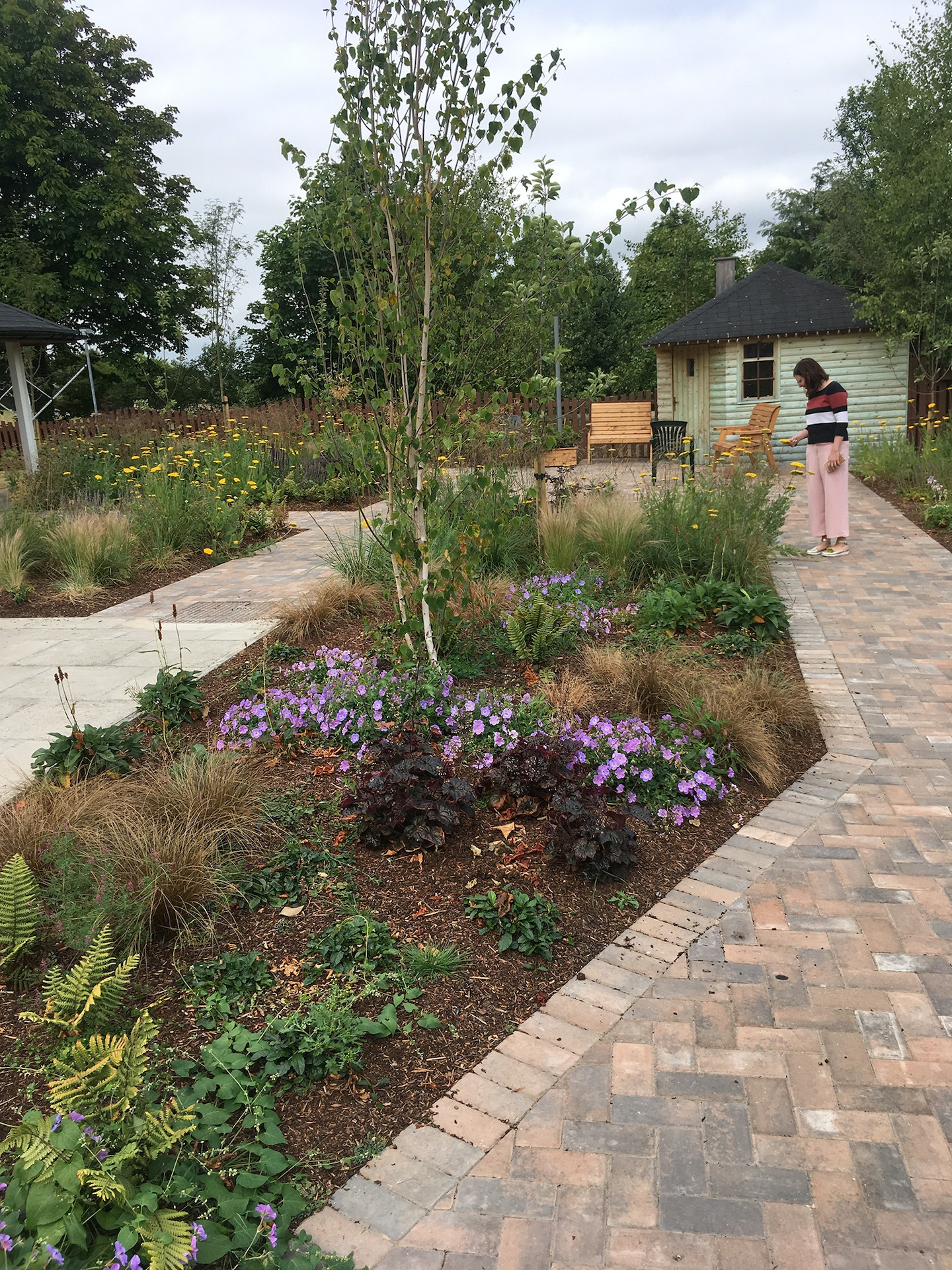 Bo\'ness Dementia Friendly Garden | Projects | Ian White Associates ...
